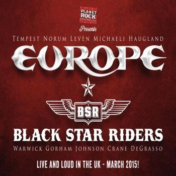 Europe   Black Star Riders