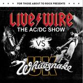 For Those About To Rock 2018  Livewire ACDC VS Whitesnake UK
